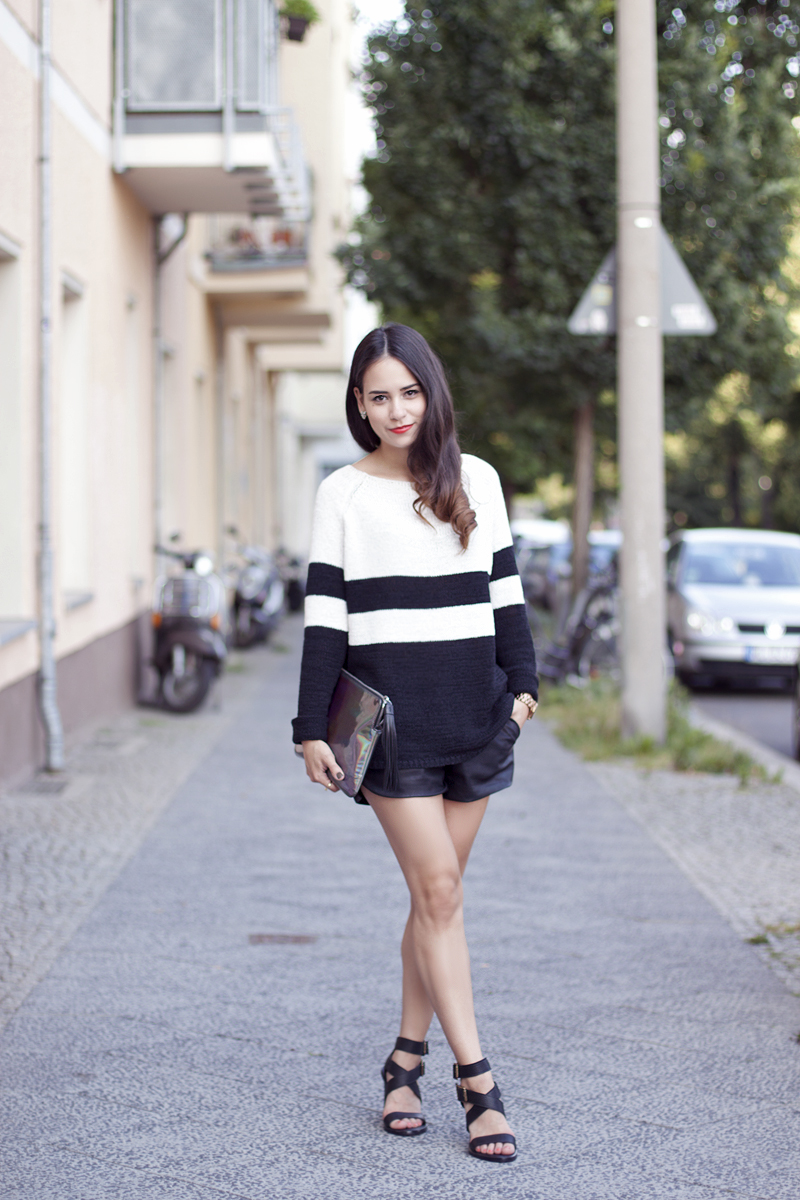 Outfit mit ZARA High Heels