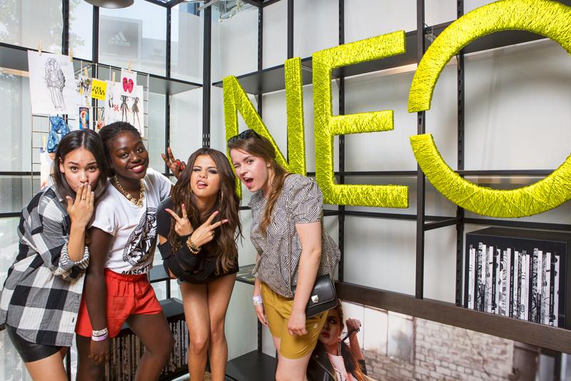 Selena Gomez for Adidas NEO