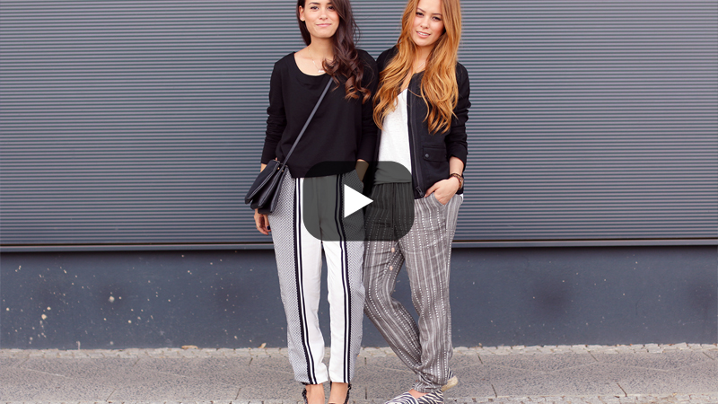 How to wear Pyjama Pants Video