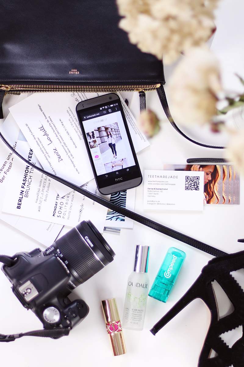 What's in my Fashion Week Bag