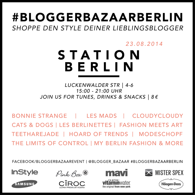 Blogger Bazaar Berlin