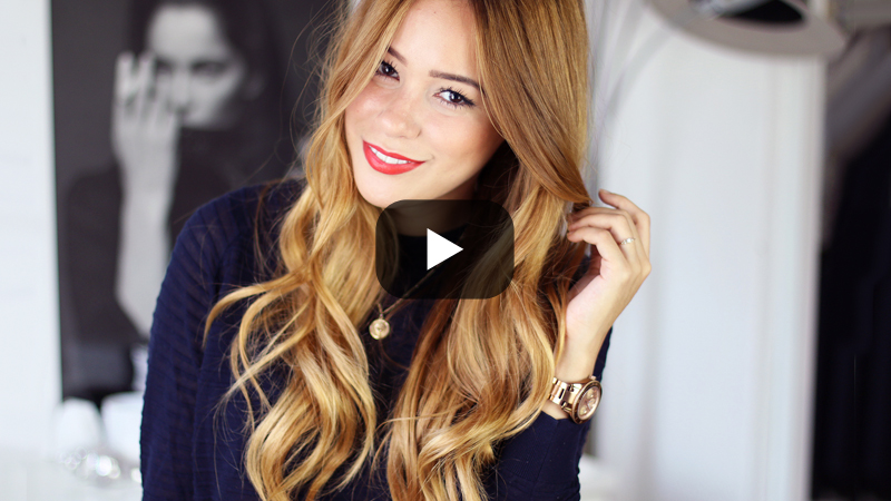 teetharejade new video tutorial f r gro e locken mit