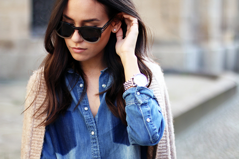 Outfit Denim on Denim Mavi