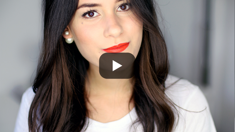 Get Ready With Me - Fresh Skin & Bold Red Lips Video
