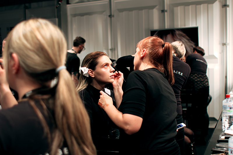 Mercedes Benz Fashion Week Berlin L'Oréal Backstage Make-Up & Hair