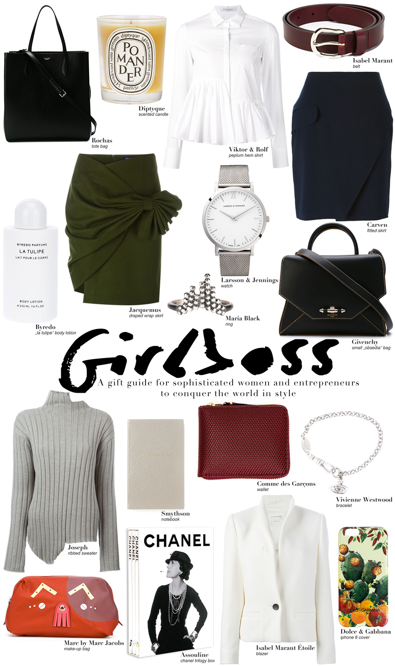 The Gift Guide for Girl Bosses - Gift Ideas for Christmas