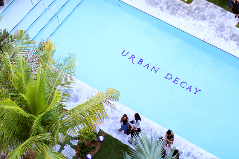 Urban Decay Summer Nights in Miami - Pools side party