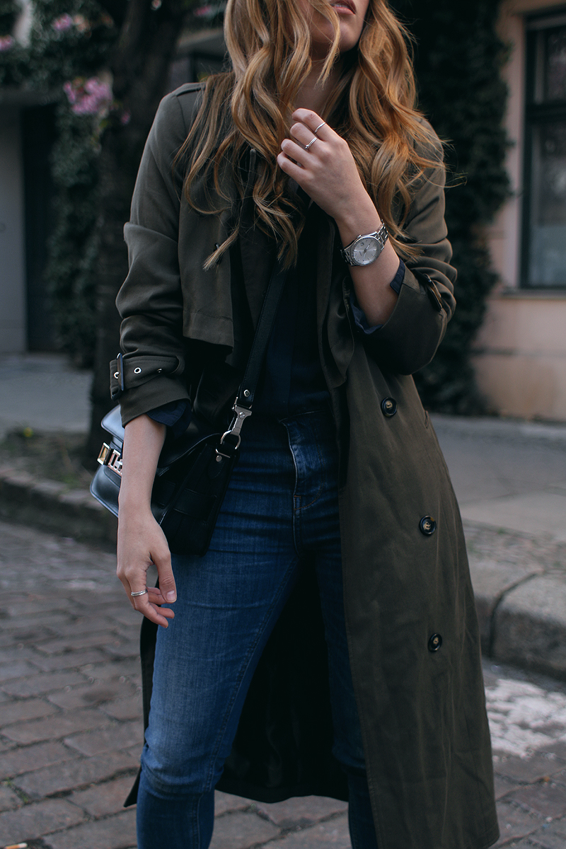 Outfit: The Oversized Trench Coat