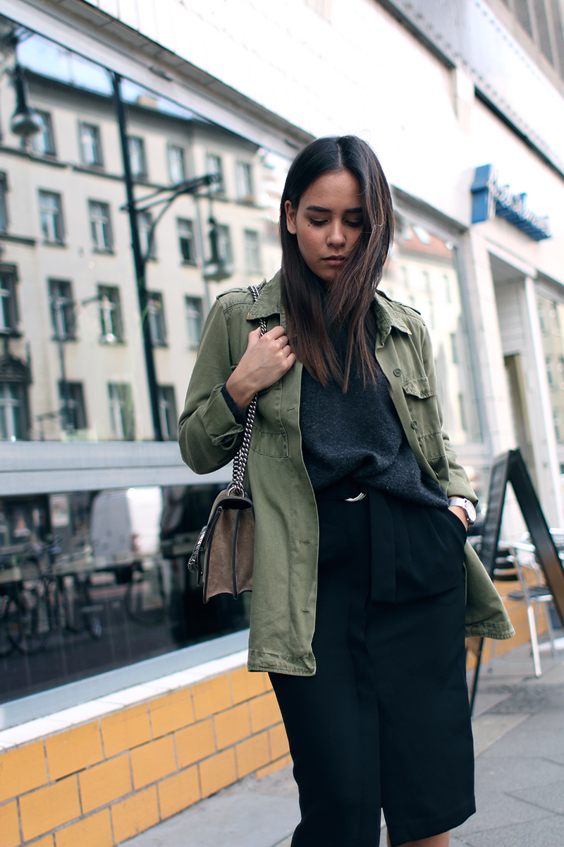 Outfit: The Green Parka