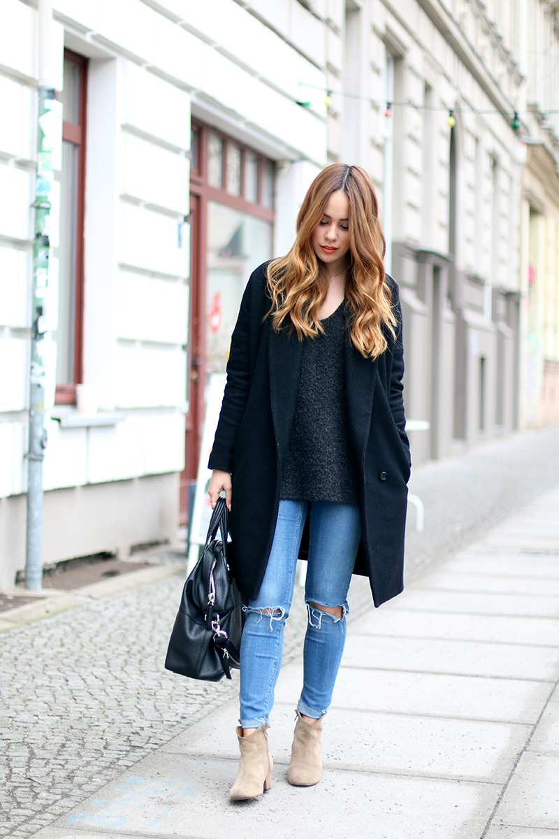 ripped jeans, givenchy nightingale, isabel marant dicker boots