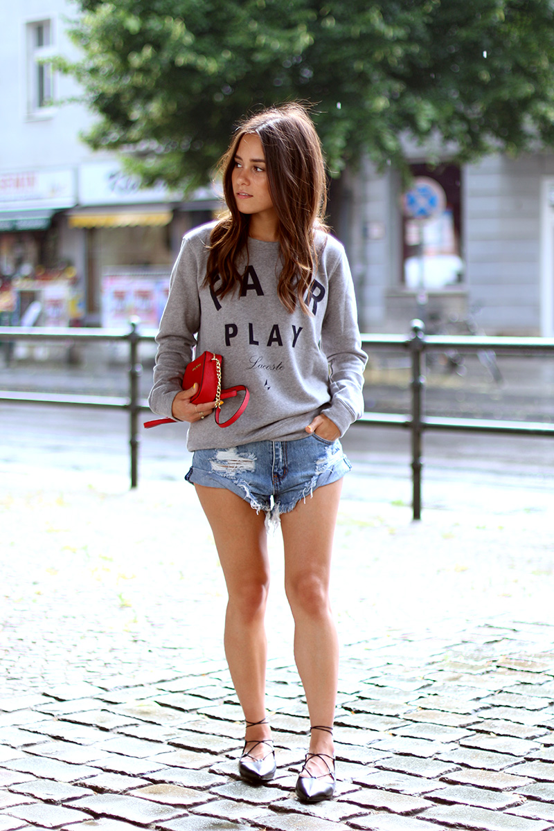 Outfit Finding The Perfect Denim Shorts Teetharejade